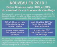CHAUDIERE GAZ, BONNE NOUVELLE!!!!, DES AIDES FINANCIERES PROPOSEES PAR L'ETAT!